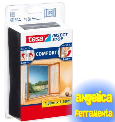 angelica ferramenta e casalinghi tesa insect stop zanzariera per finestre. Black Bedroom Furniture Sets. Home Design Ideas
